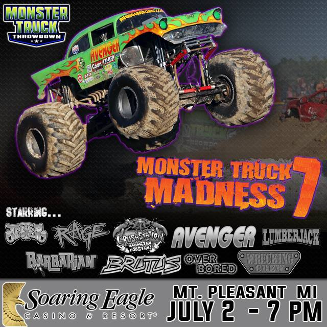 mt pleasant michigan monster trucks